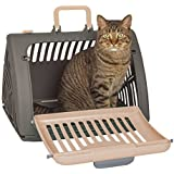 Pets Empire Pet Carrier Cage Collapsible Pet Carrier Foldable Dog Cat Training Transport Vet Foldable Pet Carrier Dog Carrier - Color May Vary