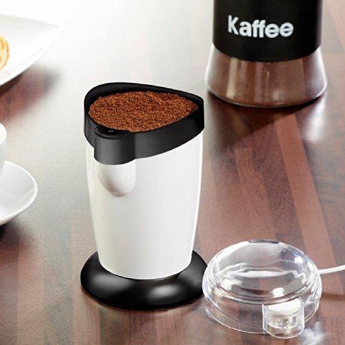 Rosenstein & Söhne–Molinillo de café eléctrico con mecanismo, plástico, pack de 1 unidad 120.00