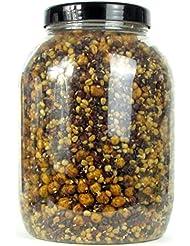 karpfenhans–Mezcla de semillas de trigo sarraceno, Trigo, Sesam y Tiger frutos secos–angelfertig präpariert 3000ml