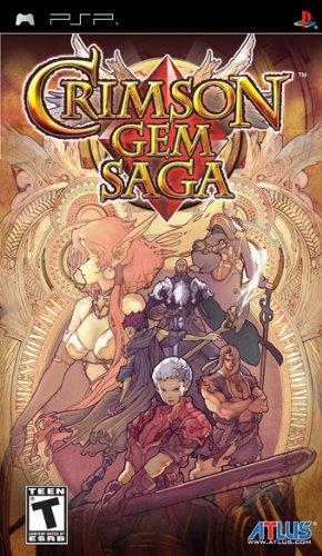 Crimson Gem Saga - US (Psp Harvest)