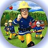 Premium Esspapier Tortenaufleger Feuerwehrmann Sam T1