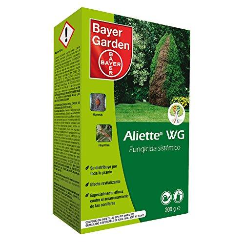 Bayer Aliette 200 Fungicida Sistémico para Césped Y Coníferas, Verde Agua, 200g