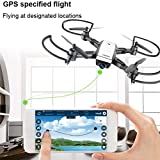 Drone RC,LH-X28GWF double FPV GPS Drone Quadcopter avec 1080p HD caméra Wifi Mode Headless RC Drone by LHWY