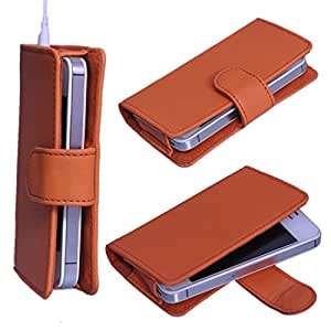 DSR Pu Leather case cover for Lava Xolo A500L