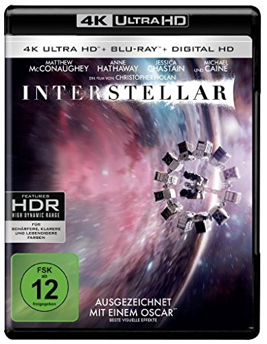 Bild von Interstellar (4K Ultra HD + 2D-Blu-ray) (2-Disc Version) [Blu-ray]