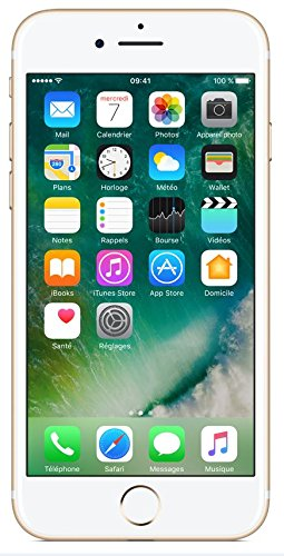 "Apple iPhone 7 - Smartphone con pantalla de 4.7"" (Wi-Fi, Bluetooth, 256 GB, 4G, cámara de 12 MP, iOS) oro"
