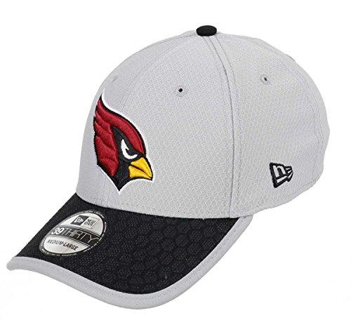 Arizona Cardinals New Era NFL 39THIRTY 2017 Sideline Gray Flex Fit Hat Hut Flex Hut