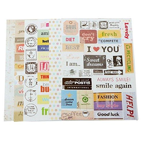 bestim-incuk-6-sheets-decorative-scrapbooking-craft-sticker-diary-album-sticker-adhesive