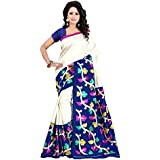 Sarees Designer Women's Bhagalpuri Silk Saree With Blouse Piece(Bhagalpuri Saree) - B07D79WWSX