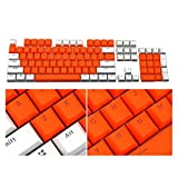 INVERSE Translucent Double Shot PBT 104 KeyCaps Backlit for Cherry MX Keyboard Switch (C)