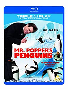Mr. Popper's Penguins - Triple Play (Blu-ray + DVD + Digital Copy)