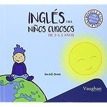 Inglés para niños curiosos de 2 a 3 años