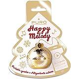 Happy Pur Melody Christmas BALL Actives Mini-Haut Parleur Speaky Noir