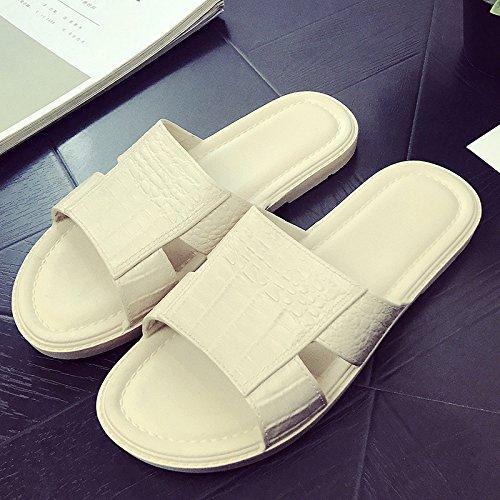 DogHaccd pantofole,Home pantofole donne indoor estate anti-slittamento bagno bagno Home Home pantofole, esterna spessa trend di usura. Brown3