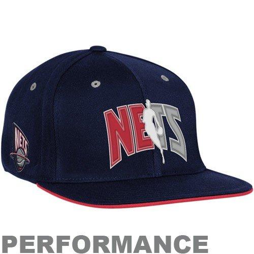 Adidas Jersey Cap (adidas New Jersey Nets Flat Brim Flex Official 2010 Draft Cap S/M)