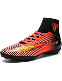 Kid's/Men Football Boots Unisex Boy's AG/TF Spike Professional Football Microfiber Soccer Athletics Training Shoes Sports Sneakers