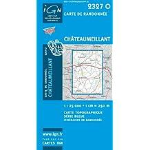 Carte de randonnée : Châteaumeillant