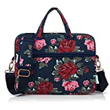 Best kayond Messenger Bags - KAYOND Peony Patten Canvas Laptop Shoulder Messenger Bag Review