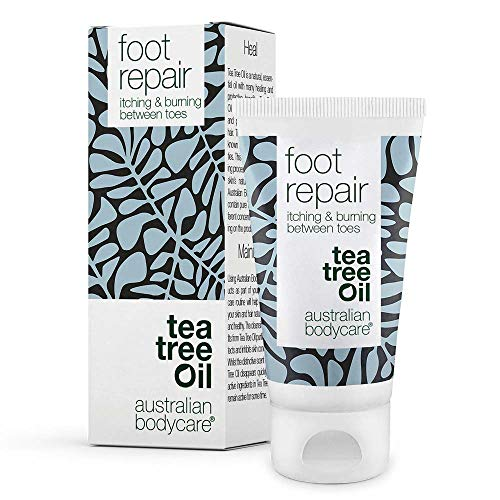 Australian Bodycare foot repair - Natürliches Gel für fusspflege bei Fußpilz und Juckreiz. Die Salbe wirkt schnell gegen Juckreiz, Brennen und Rötungen zwischen den Zehen. -