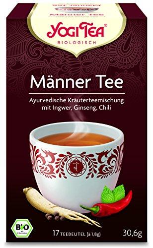 Yogi Männer Tee BIO 6 Packungen à 17 Teebeutel