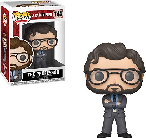 Funko 34496 Pop Vinyl: Televisión: Dinero Heist: The Professor, Multi