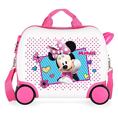 Disney Joy Valigia per bambini 41 centimeters 25 Multicolore (Multicolor)