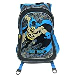 BB Designs Europe Limited Zapatillas de Batman Junior mochila mochila, multicolor (negro/azul)