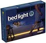 DUAL SENSOR bedlight motion activated ambient LED lighting w/ automatic shut off by mylight.me