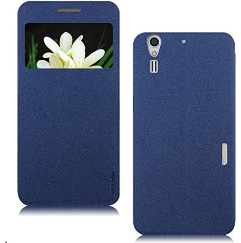 Pudini Window Sand Series Flip Case for ZTE Grand S II (S251) - Fashion Royal...