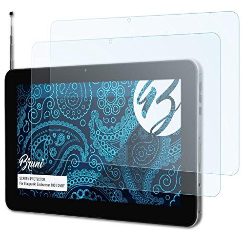 Bruni Schutzfolie für Blaupunkt Endeavour 1001 DVBT Folie, glasklare Bildschirmschutzfolie (2X)