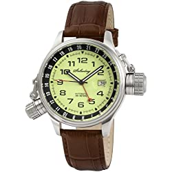 Stolzenberg Men's Automatic Watch ST2600290002 with Leather Strap