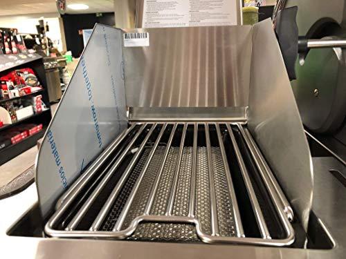 Windschutz für Napoleon Sizzle Zone LE Prestige LEX Gasgrill Grill Barbecue 800 Grad