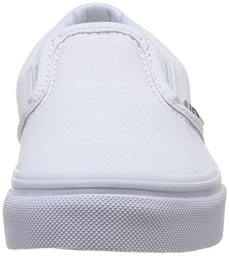 Vans Kids Classic Slip on, schwarz Weiß (True Wht ENS)