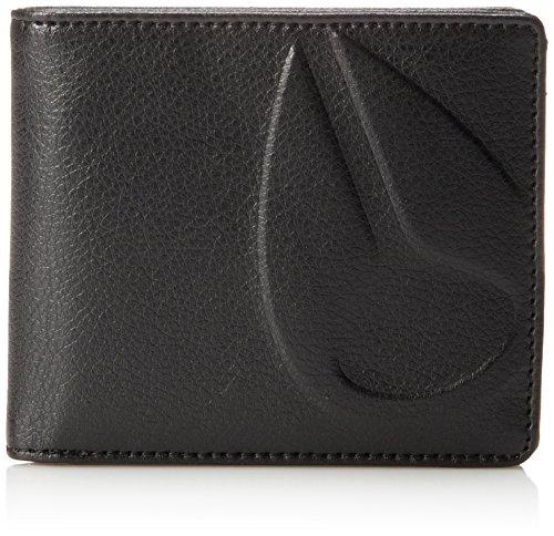 Nixon Herren Haze Bi-fold Wallet Geldbörse, All Black, Einheitsgröße -