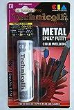 Stucco epossidico per metalli (inox, alluminio, Bronzo, Ferro Casts, ecc.) 'saldatura fredda 40g nuovo