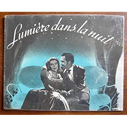 Dossier de presse de Lumière dans la nuit (1943) – 31cmx24, 12 p -Film de Helmut Kaütner avec Marianne Hoppe, Paul Dahlke – Photos N&B – Bon état.