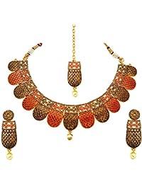 Atasi International Multicolor Bridal Designer Jewellery Set For Women