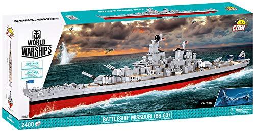 COBI-3084, Schlachtschiff, Missouri BB-63, 1:300, 2400 k