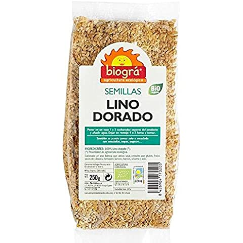 LINAZA SEMILLA DORADA BIO 500G