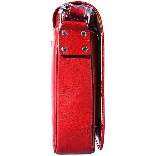 Sac Porte-document Serviette Cartable bandoulière business 6551 rouge