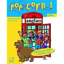 Pop Corn 1 :  CM1, pour l'élève (coffret 2 cassettes)
