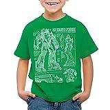 A.N.T. Optimus Prime T-Shirt für Kinder Blaupause Autobot, Farbe:Grün, Größe:140