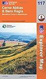 Cerne Abbas and Bere Regis, Blandford Forum and Beaminster (OS Explorer Map)