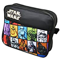 Star Wars TMSTAR001049 Boy Junior Retro Courier Multi Despatch Bag