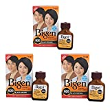 #9: Bigen Powder Hair Color, Oriental Black N20 - Pack of 3 (Combo Set)