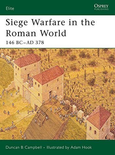 Siege Warfare in the Roman World: 146 BC-AD 378 (Elite, Band 126) (Antike Duncan)