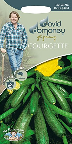 Mr Fothergills???L?gumes???David Domoney Courgette Toscane F1?10?graines