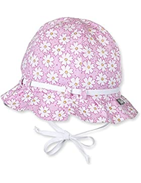 Sterntaler - Mädchen Sommerhut zum Binden mit Schleife Blumen, pink - 1411700