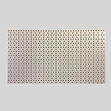 1 Stück Tegometall Lochwand Rundlochung juraweiss L 125 H 40 cm Art.: 13180824