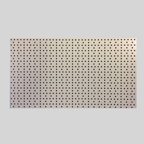 Preisvergleich Produktbild 1 Stück Tegometall Lochwand Rundlochung juraweiss L 125 H 40 cm Art.: 13180824